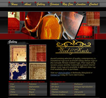 Wool and Knots Website